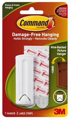 Wire Hanger/Adhesive           *