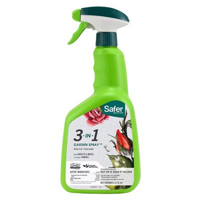 Safer 32OZ 3 In 1 Insect Killer