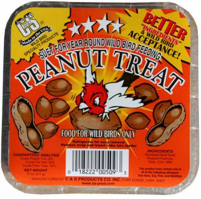 11 oz. Peanut Suet Cake