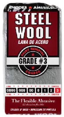 12PK #3 STL Wool Pad
