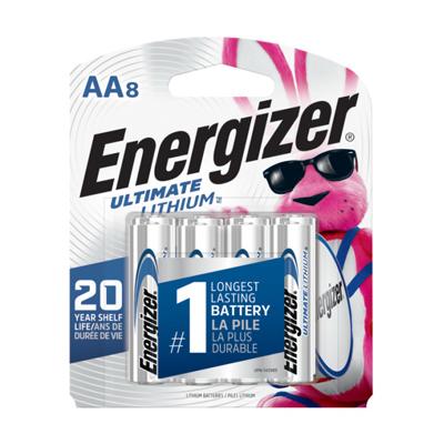 Energizer 8PK AA Lithium Battery