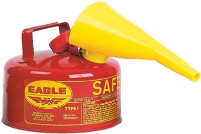 1 GALLON Safe Can & Funnel