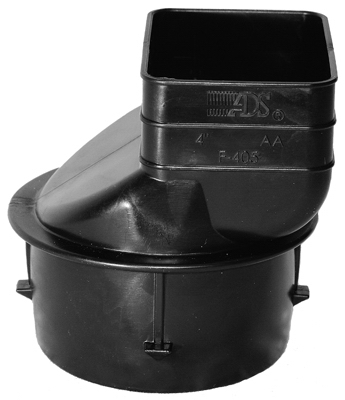 """4"""" Downspout Adapte 3""""X4-1/4"""""""