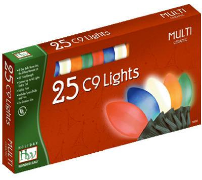 25-CT C9 Multi Ceramic Light Set