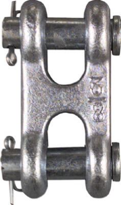 """3/8"""" ZN DBL Clevis Link"""