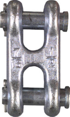"""1/2"""" ZN DBL Clevis Link"""