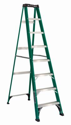 Ladder, Step  8' Fiberglass 225#