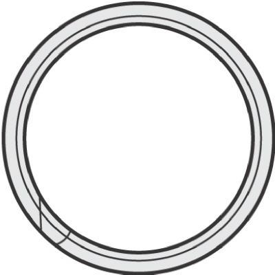 "100PK3/4""Split Key Ring        *"
