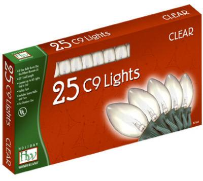 25-LGT C9 Clear Light Set