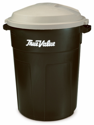 TV/32GAL EVGR Trash Can w/LID