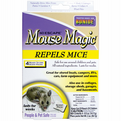 4PK Mouse Magic Repellent