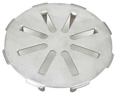 """4"""" Stainless Steel Drain Cover"""