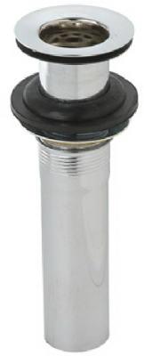 2PC Chrome Lavatory Drain Plug