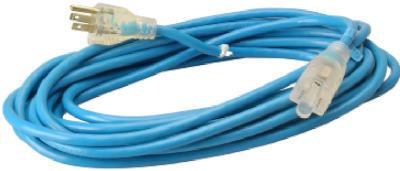 Me25' 16/3 Blu Ext Cord