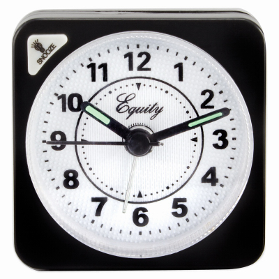 BLK Travel Alarm Clock