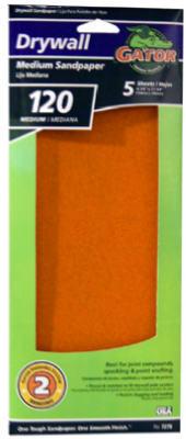 "5PK 4-1/4"" 120G Dry Sand Paper"