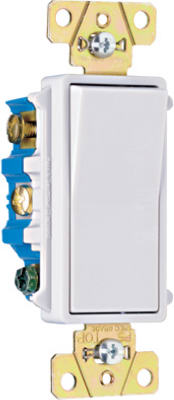 15A White 120V 4 Way Switch