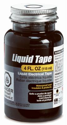 4OZ Black Liquid Tape