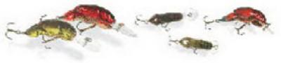 """2"""" 1/5-OZ Rebel Crawfish Lure"""