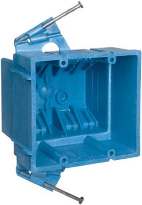 2 Gang New Work Super Blue Box