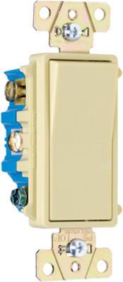 15A 120V 4 Way Ivory Switch