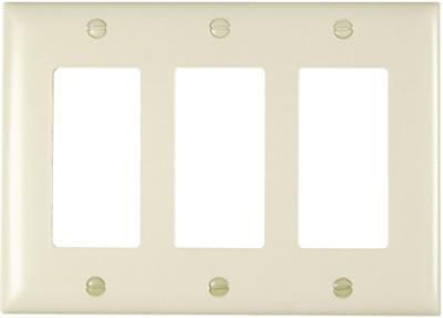 Almond 3G Decorator Wall Plate