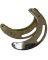 Bork Saddlery Rigging Plates Brass