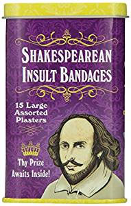 Bandages Shakespearean Insults