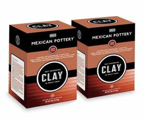 Mexican Pottery Terra Cotta Self-Hardening Clay 5lb Box
