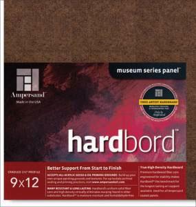 "Hardbord Cradled 1.5"" - 9x12"