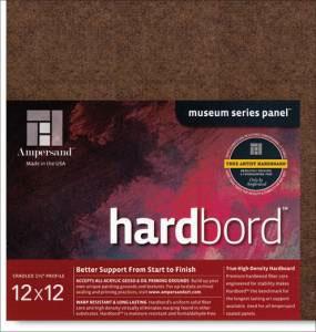 "Hardbord Cradled 1.5"" - 12x12"
