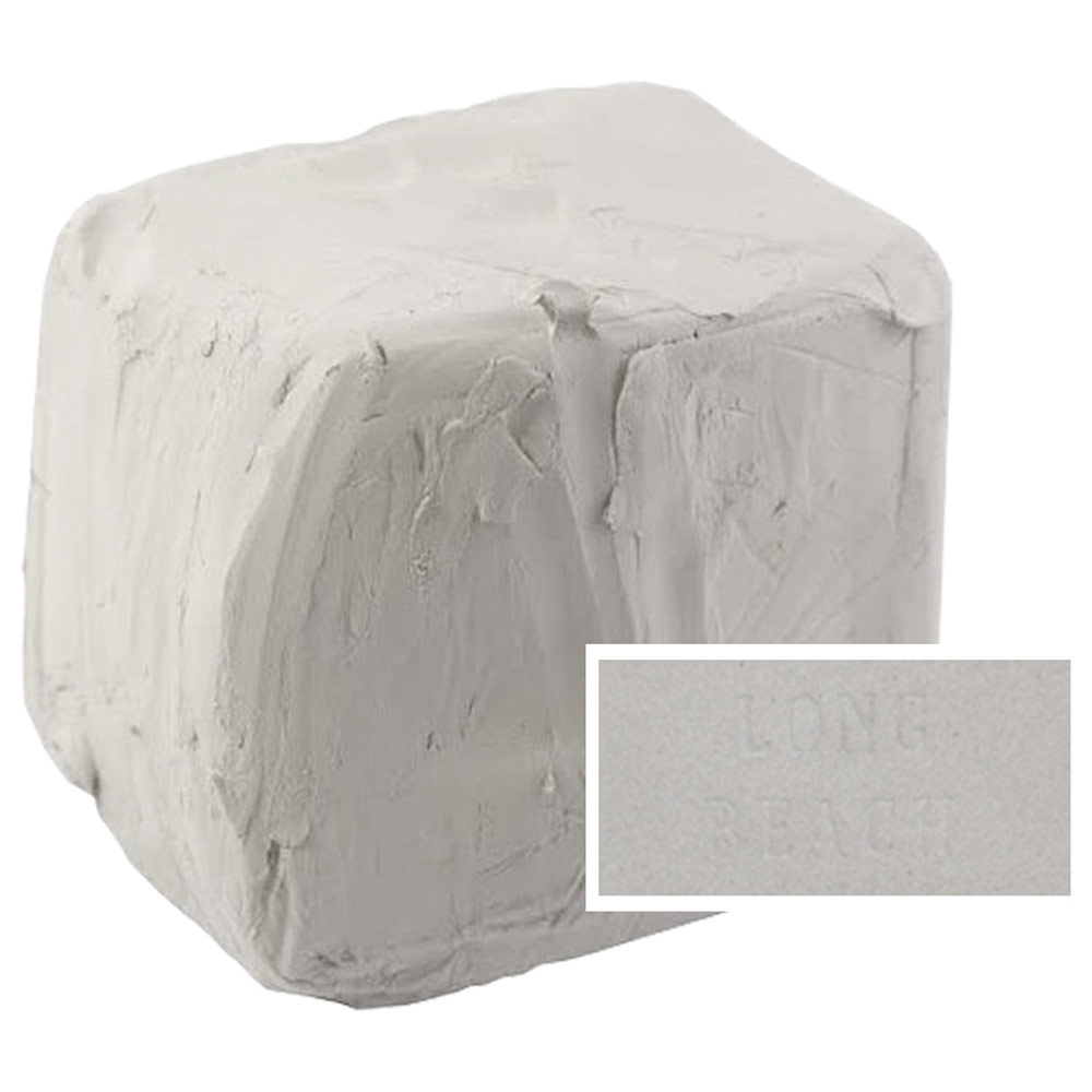 Aardvark Clay Long Beach White Cone 10 in a 25 Lb Bag