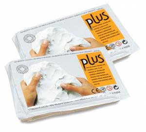 Plus Clay 2lb (White)
