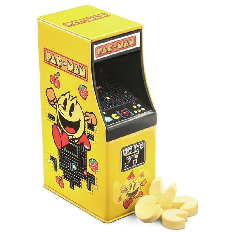 PAC-MAN ARCADE TIN CANDY
