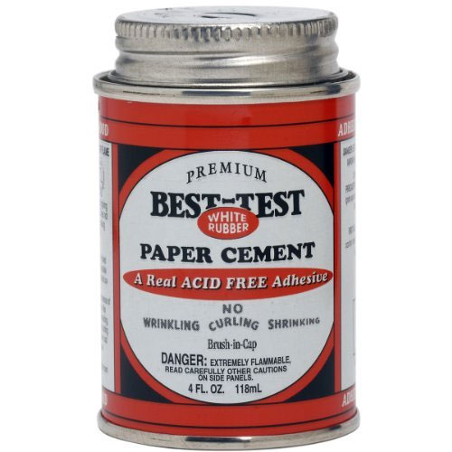 BEST-TEST PAPER CEMENT 4oz