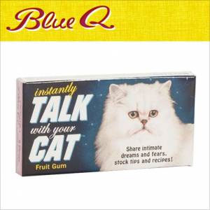 Blue Q Gum - Instantly Talk With Your Cat