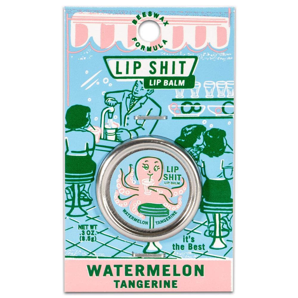 Blue Q Lip Shit Lip Balm - Watermelon Tangerine