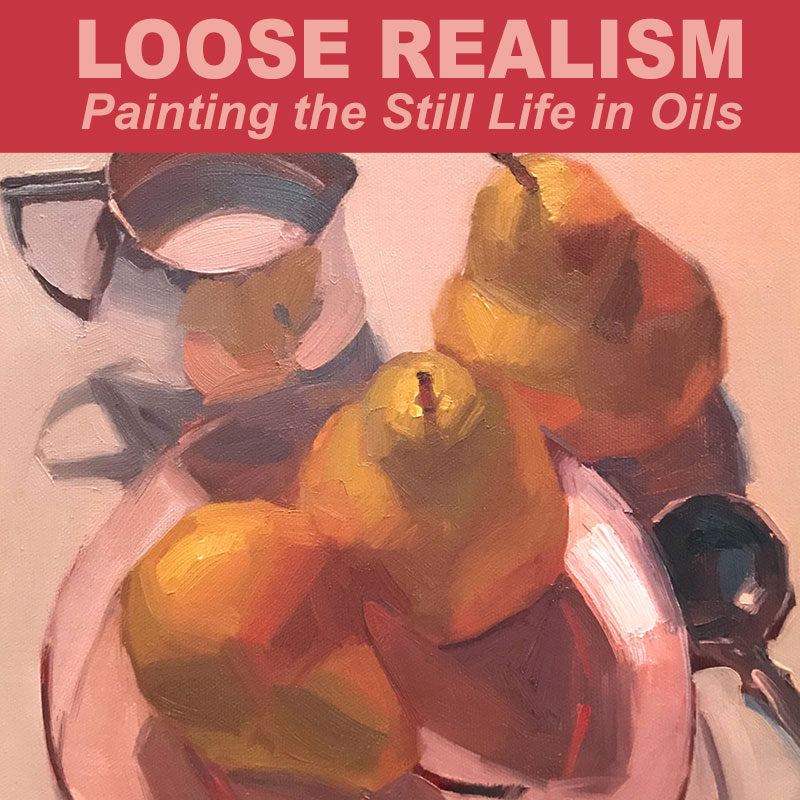 In the Studio: Loose Realism with Sarah Sedwick 10/01 - 10/03
