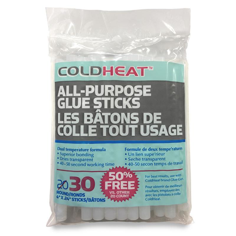 ColdHeat All-Purpose Glue Sticks 30 Pack