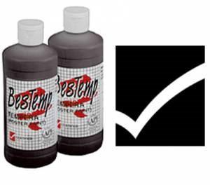 Bestemp Liquid Tempera (Poster Paint) 16 oz. - Black
