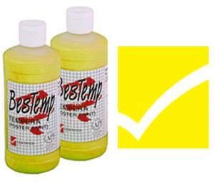 Bestemp Liquid Tempera (Poster Paint) 16 oz. - Yellow