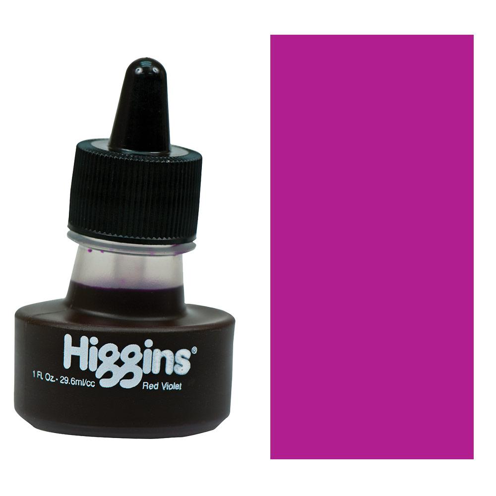 Higgins Waterproof Drawing Ink 1 oz. - Red Violet