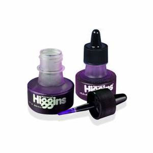 Higgins Waterproof Drawing Ink 1 oz. - Violet