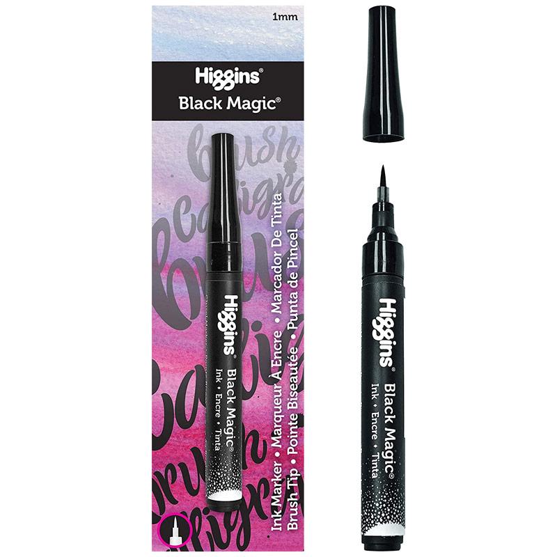Higgins Black Magic Pump Marker - Brush 1mm