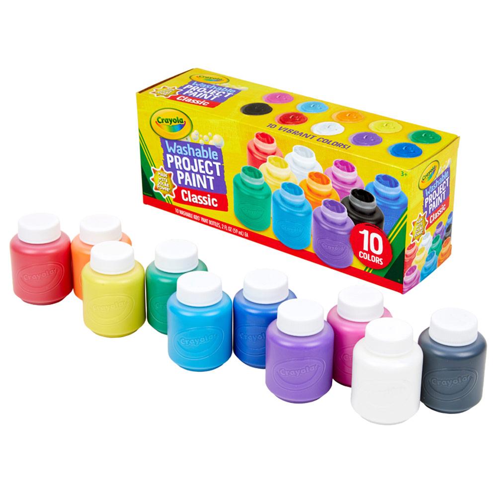 Crayola Washable Kid's Paint 10 Ct.