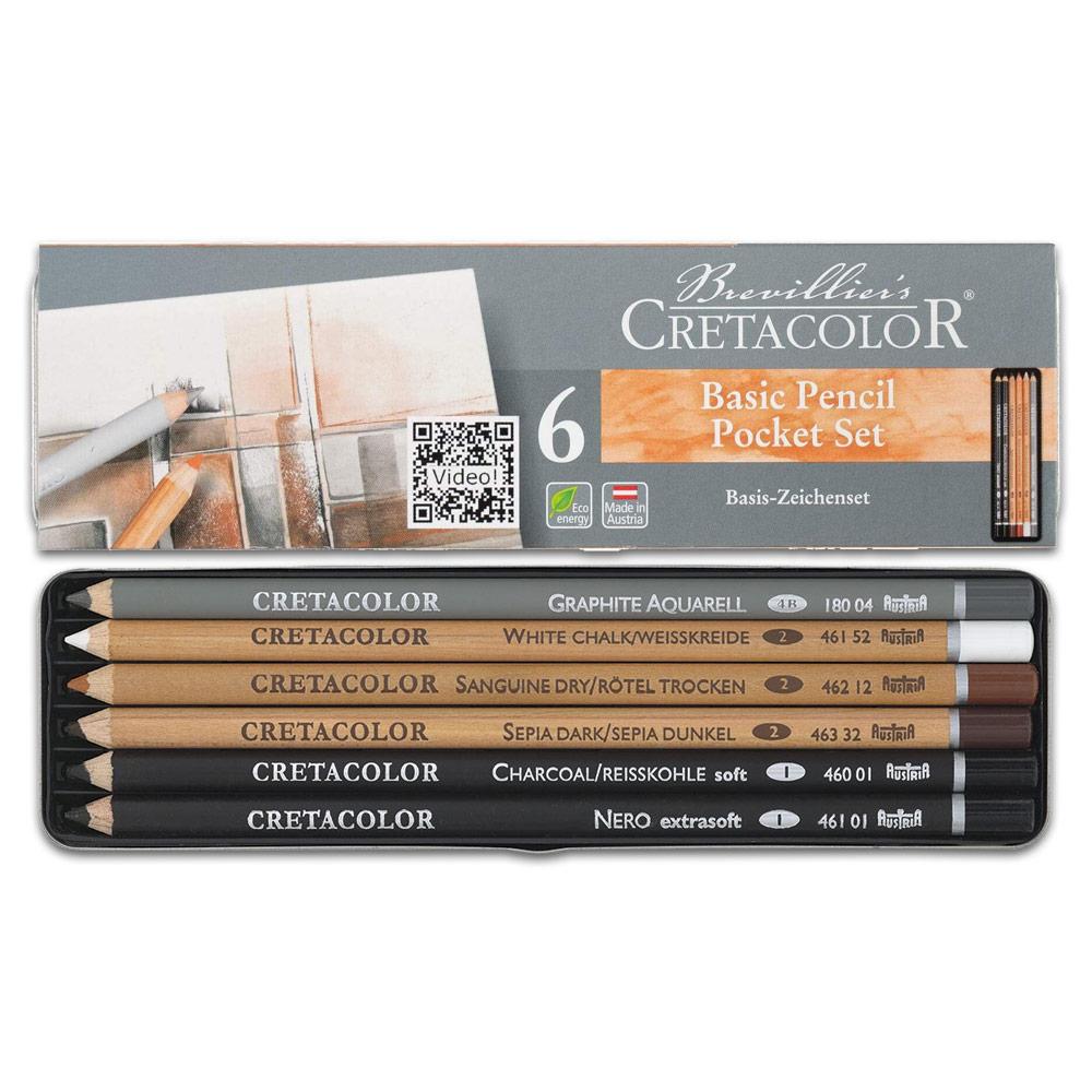 Cretacolor Basic Drawing Set
