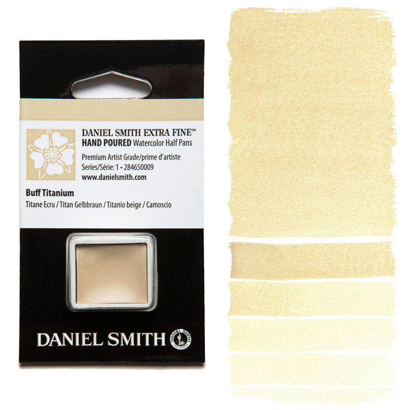 Daniel Smith Watercolor Half Pan - Buff Titanium