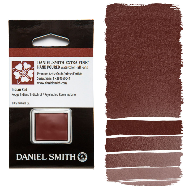 Daniel Smith Watercolor Half Pan - Indian Red