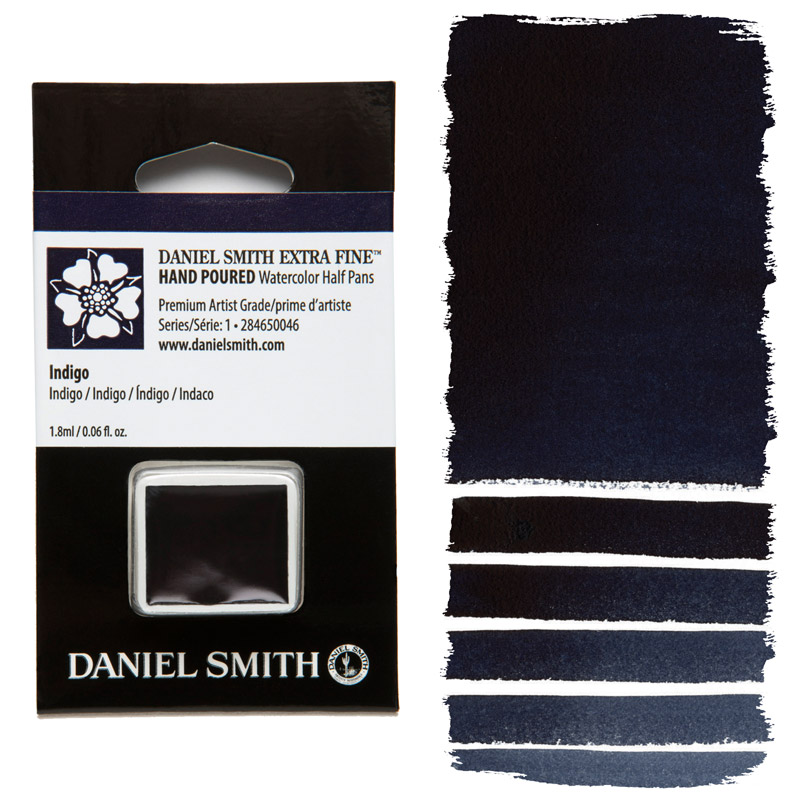 Daniel Smith Watercolor Half Pan - Indigo