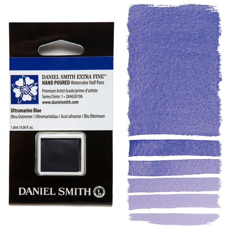 Daniel Smith Watercolor Half Pan - Ultramarine Blue